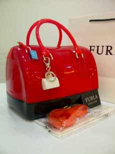 Furla Semi Ori 3 tones (doo) Oren, Red, Black