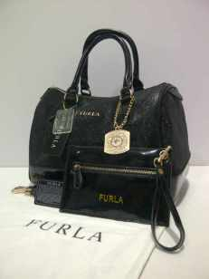 Furla super gliters (bio)Black 33x17x20